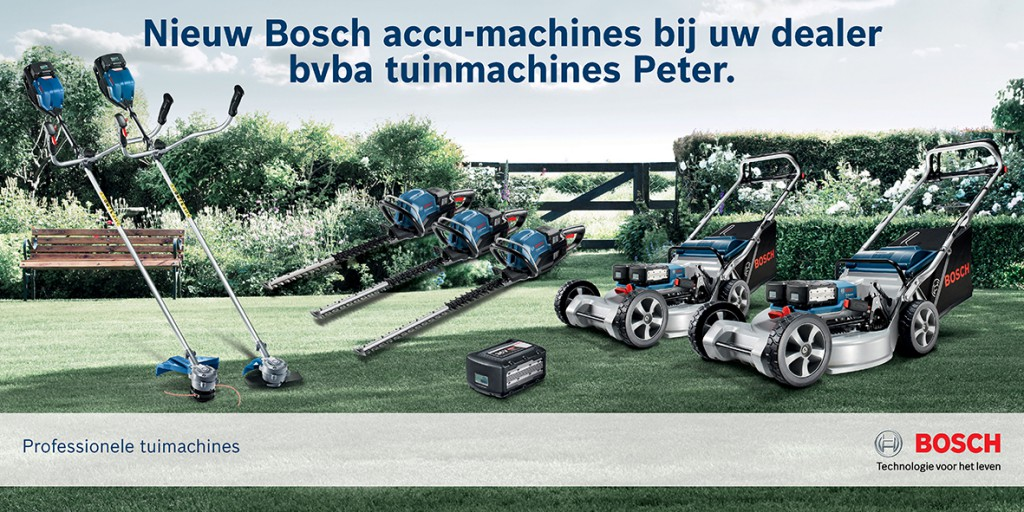 Professionele Bosh accu-machines